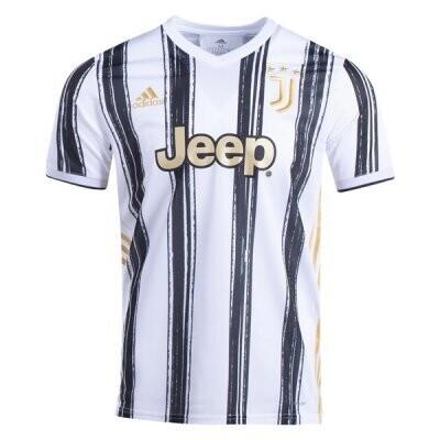 20-21 Juventus Home Soccer Jersey Shirt