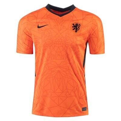 2020 Netherlands Home Soccer Jersey Shirt