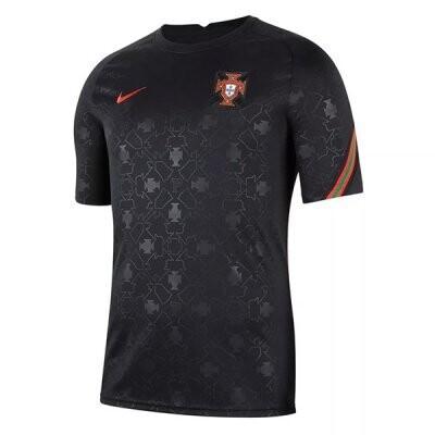 2020 Portugal Black Pre-Match Training Jersey