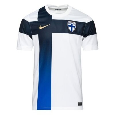 20-21 Finland Home White Soccer Jersey