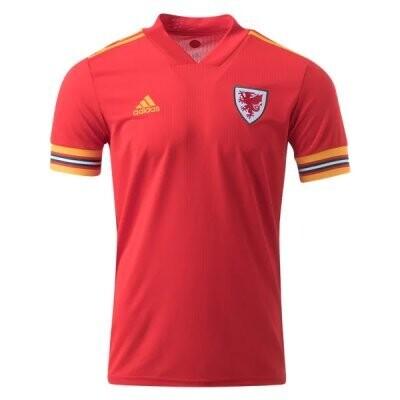 2020 Wales Home Soccer Jersey Shirt