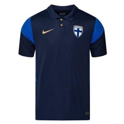 20-21 Finland Away Navy Soccer Jersey