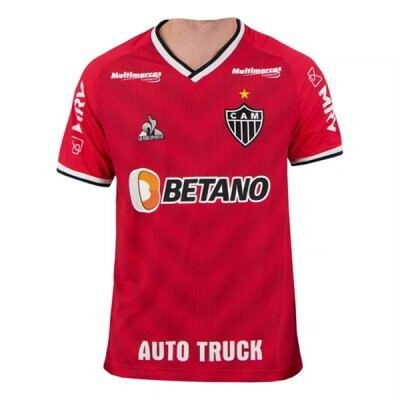 21-22 Atletico Mineiro Red Goalkeeper Jersey