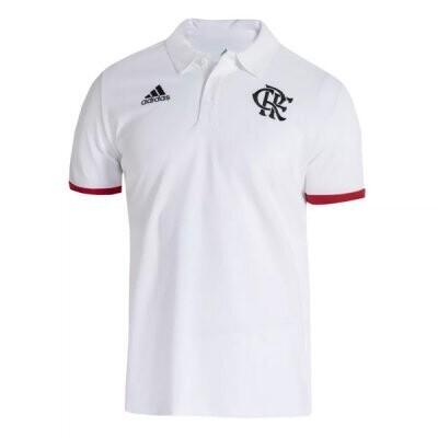 21-22 Flamengo White Polo Shirt
