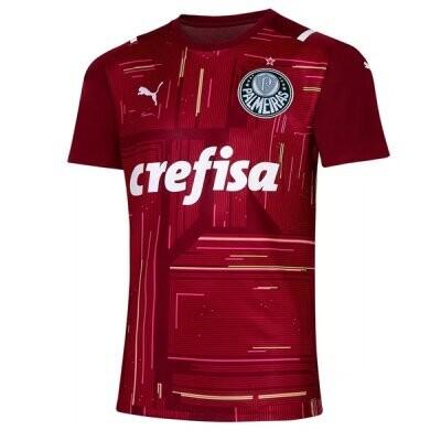 21-22 Palmeiras Red Goalkeeper Jersey