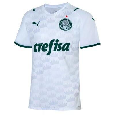 21-22 Palmeiras Away White Soccer Jersey