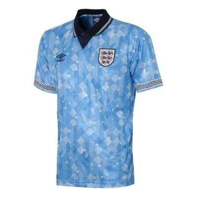 1990 England Third Retro Football Jersey Shirt