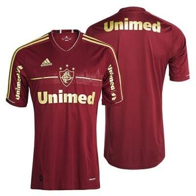 2011-12 Fluminense Home Retro Jersey Shirt