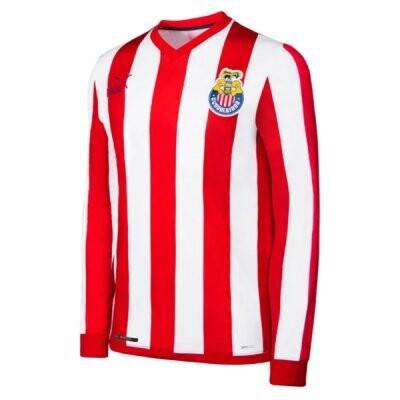2021 Chivas Guadalajara 115 Years Long Sleeve Jersey