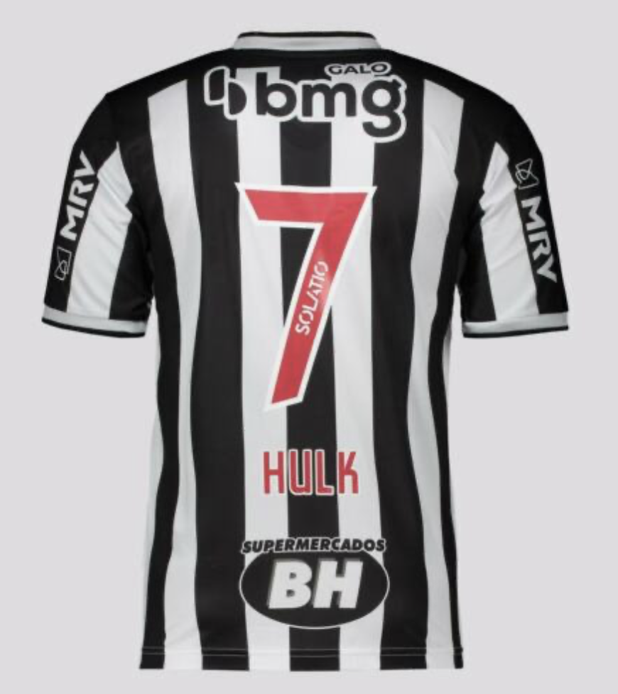 Official Le Coq Sportif Hulk Atletico Mineiro Jersey 21/22