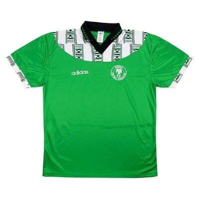 1994 Nigeria Home Green Retro Jersey Shirt