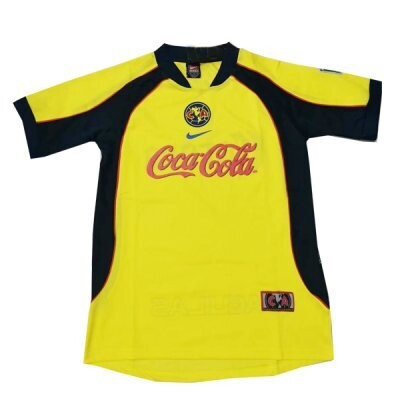 Club America Retro  Home Jersey 2001-02