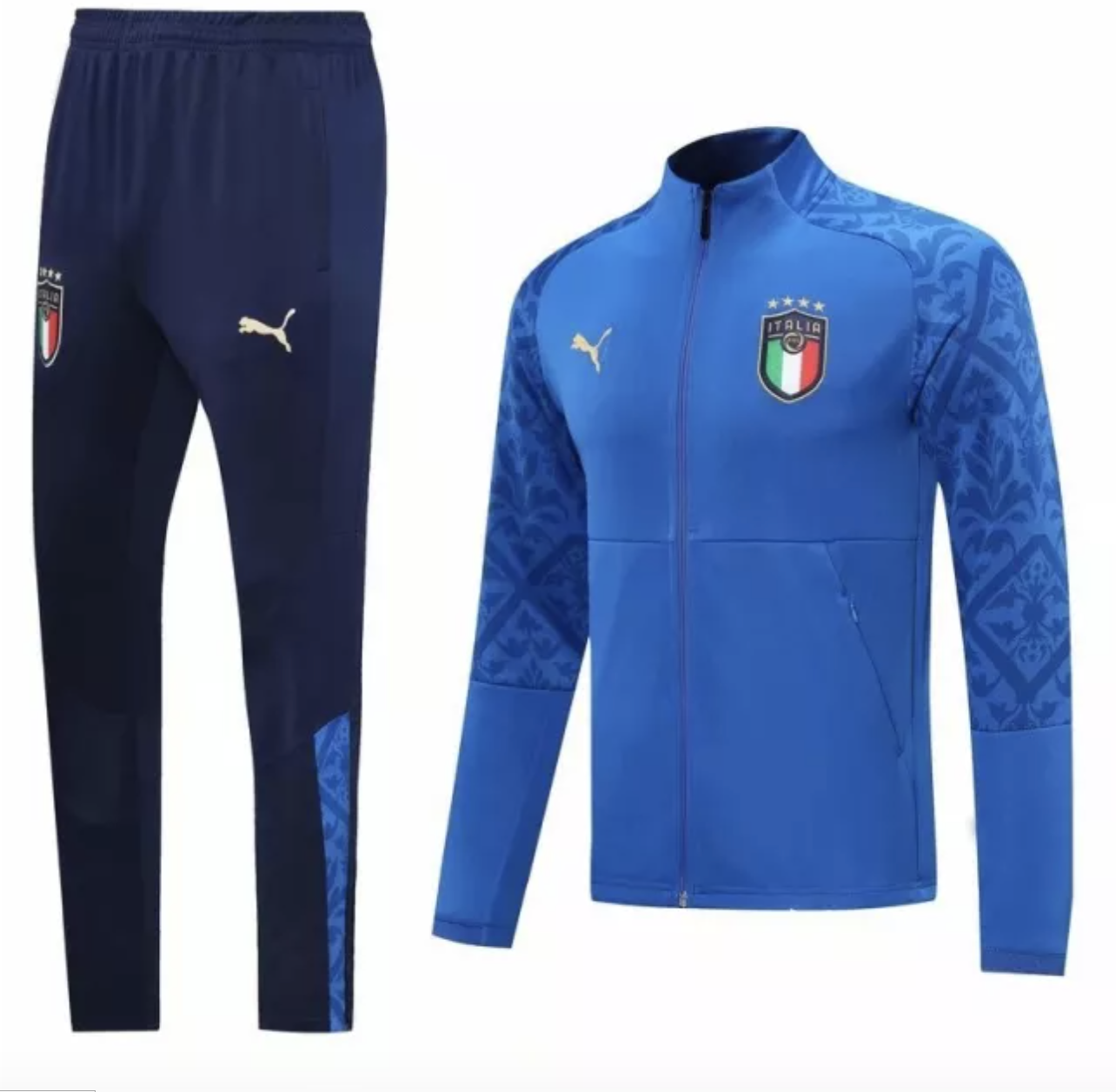 Italy Blue Track Suit 2020