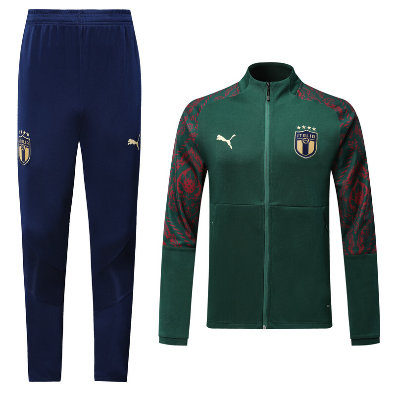 Italy Green  Track Suit 2020