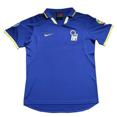 1996 Italy Home Retro Jersey Print Euro Cup Patch