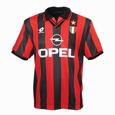 1996-1997 AC Milan Home Retro Jersey