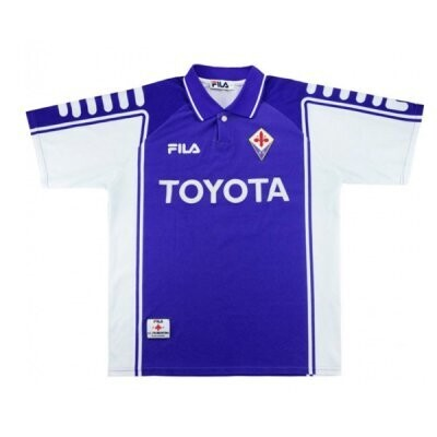 1999-2000 Fiorentina Home Retro Jersey Shirt