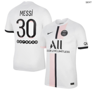 PSG Away Messi #30 Ligue 1 Jersey