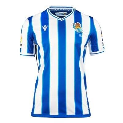 Real Sociedad Home Soccer Jersey 20/21