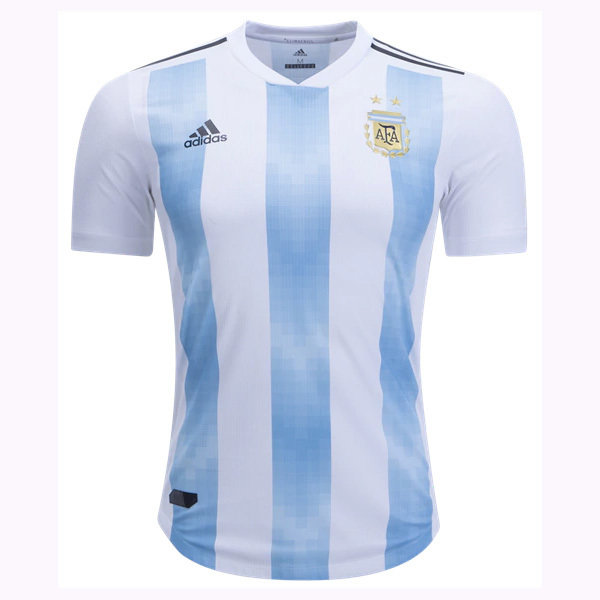 Adidas Argentina Official Home Jersey Shirt 2018