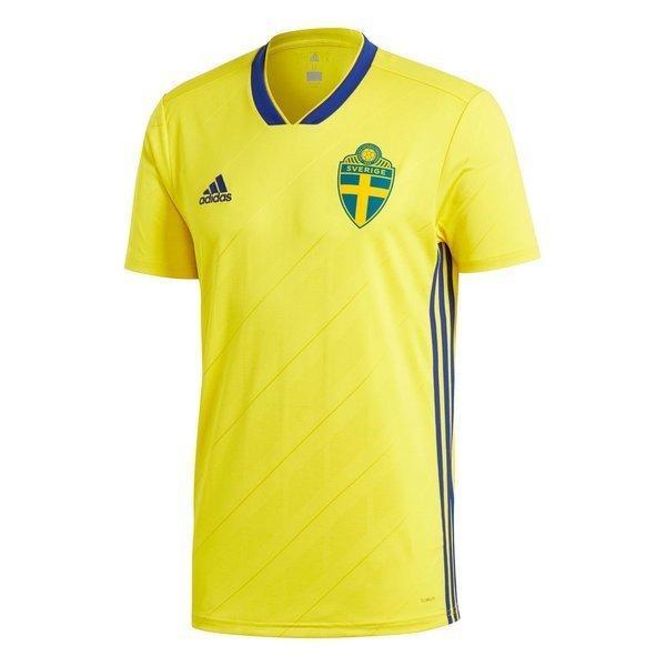 Adidas Sweden Official Home Jersey Shirt 2018