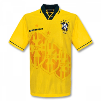 1994 Brazil Home Retro Jersey Shirt (Replica)