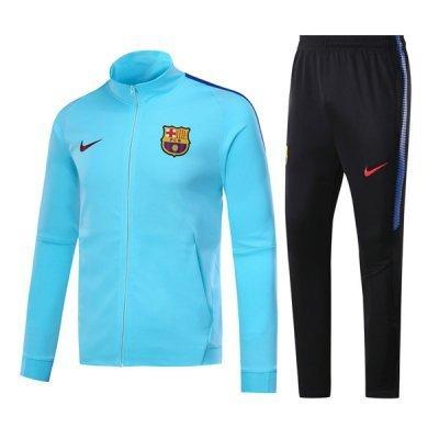 Nike Barcelona Sky Blue Training Suit 2018