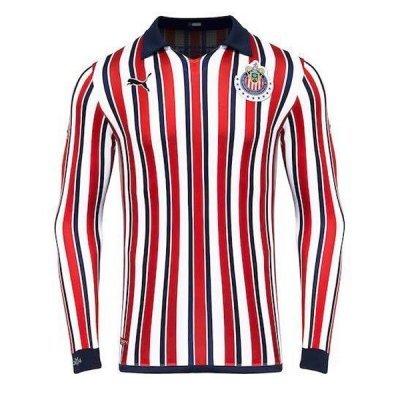 Puma Chivas Mundial De Clubes Long Sleeve Jersey Shirt 18/19 (Replica)