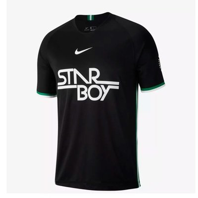 Nike Wizkid Co-creation Stadium Shirt Starboy Jersey (Black) Official Jersey Shirt