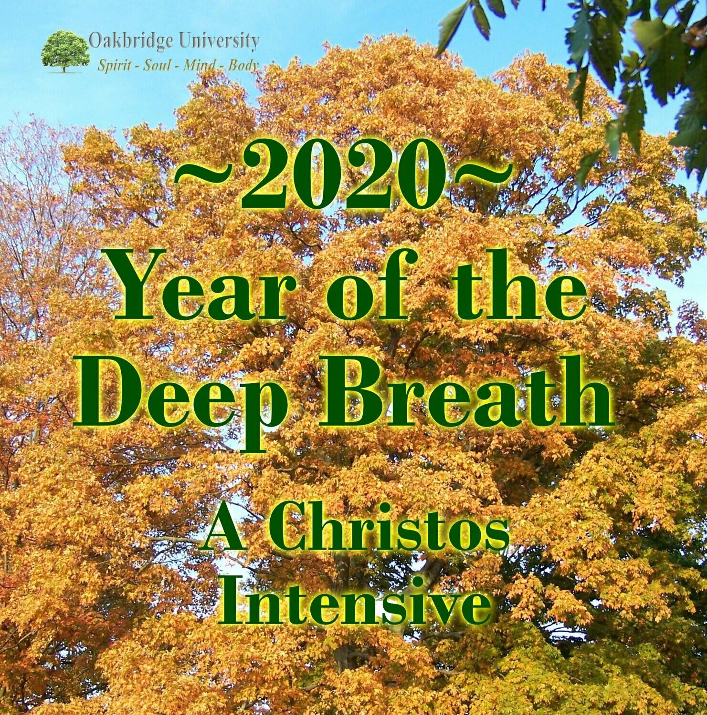 2020 Fall Intensive - Postponed
