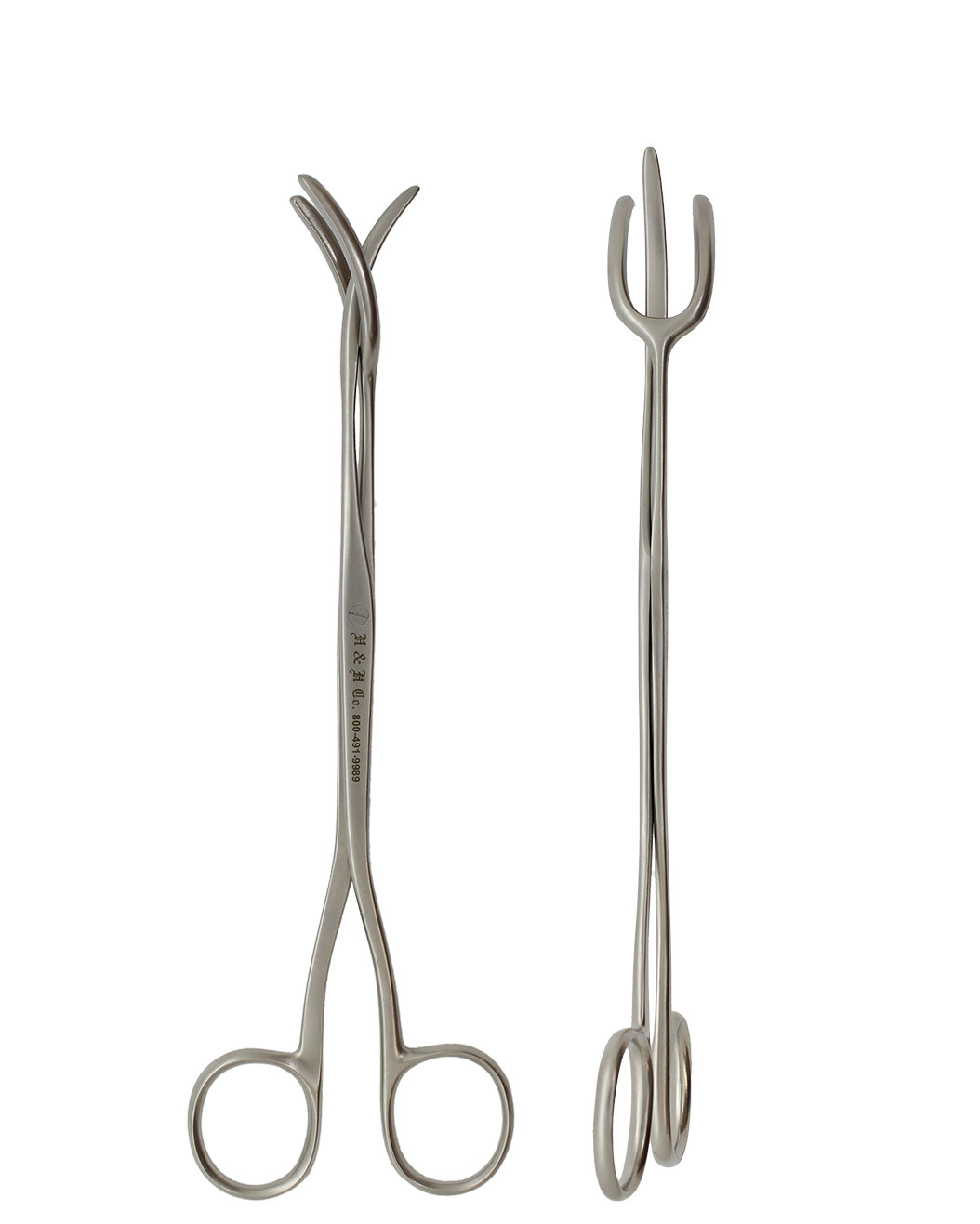 """UTILITY FORCEPS 8"""" 3-PRONG"""