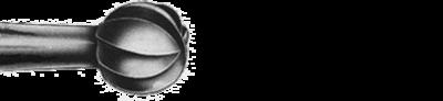 Carbide Bur, US #6, 1.8mm dia, Surgical Round