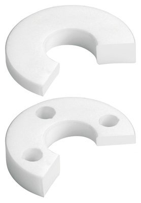 SUPPORT DISC, LEFT PTFE - WHITE