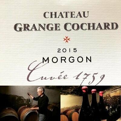 Ch. Grange Cochard - Morgon 2015 - Cuvée 1759 Beaujolais - Frankrijk