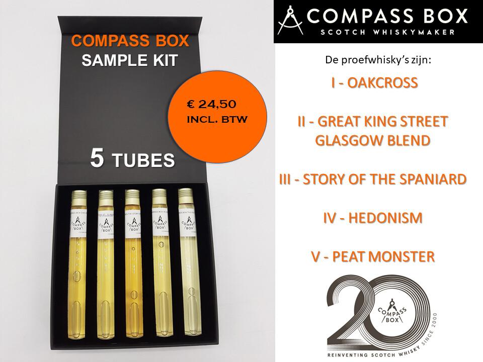 Compass Box Sample Kit 5 Tubes