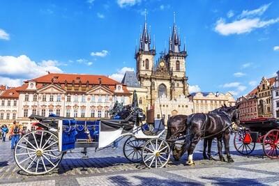 Prague & Karlovy Vary in Halloween