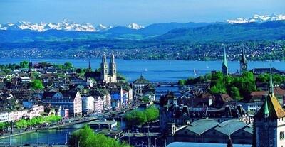 Zürich, Lucerne & Rhine Waterfalls Trip