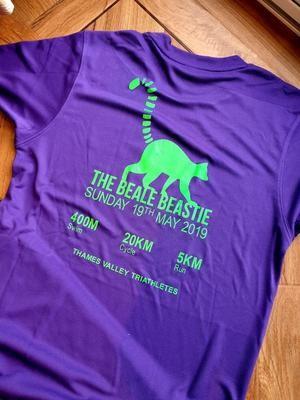 Beale Beastie Tech Tee