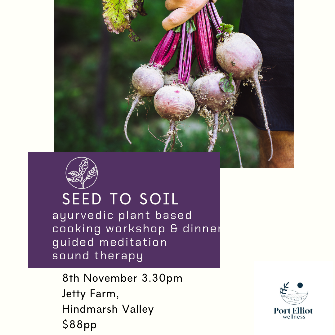 Seed to Soil - Jetty Farm/Hindmarsh Valley- Sun 8th Nov