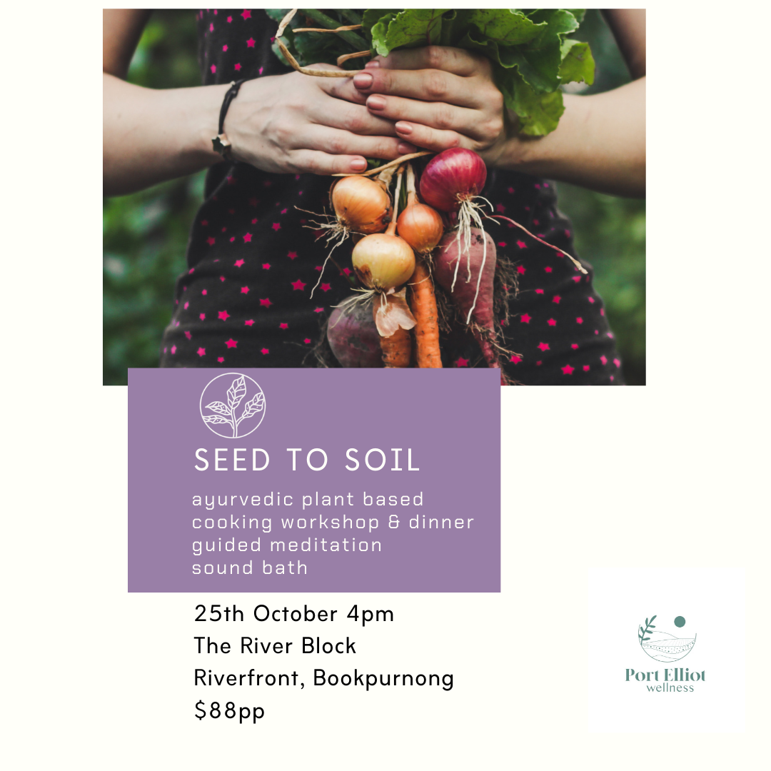 Seed to Soil - River Block - Sun 25th October