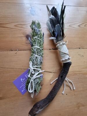Large- Smudge Wand & Smudge Stick