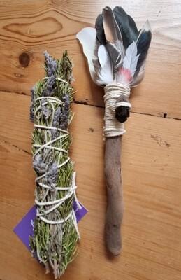 Small- Smudge Wand & Smudge Stick