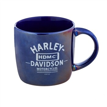 Tasse à café Harley-Davidson® Blue City Porcelaine Lustré 14 oz. 3CLM4925