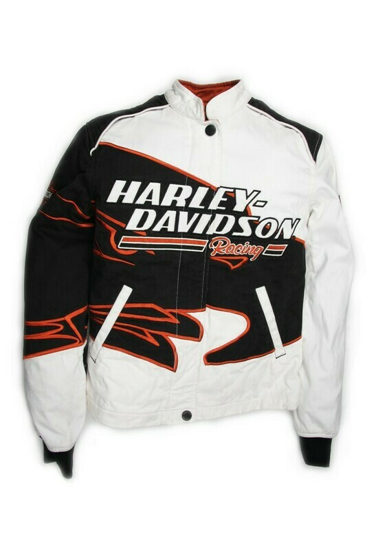 Manteau de Twill pour Femme Harley-Davidson® Sreaming Eagle Blanc & Noir 98230-06VW