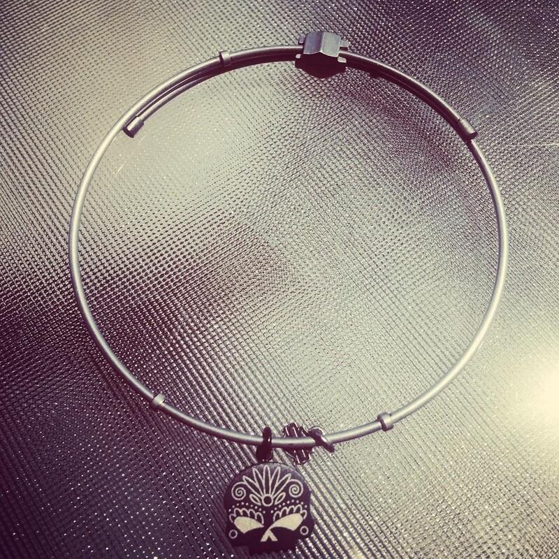 Bracelet pour Femme Harley-Davidson® Shield and Skull Argent HSB0050