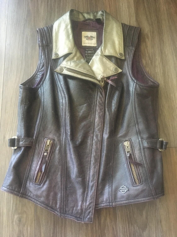 Veste de cuir sans manche pour Femme Harley-Davidson® 97050-15VW