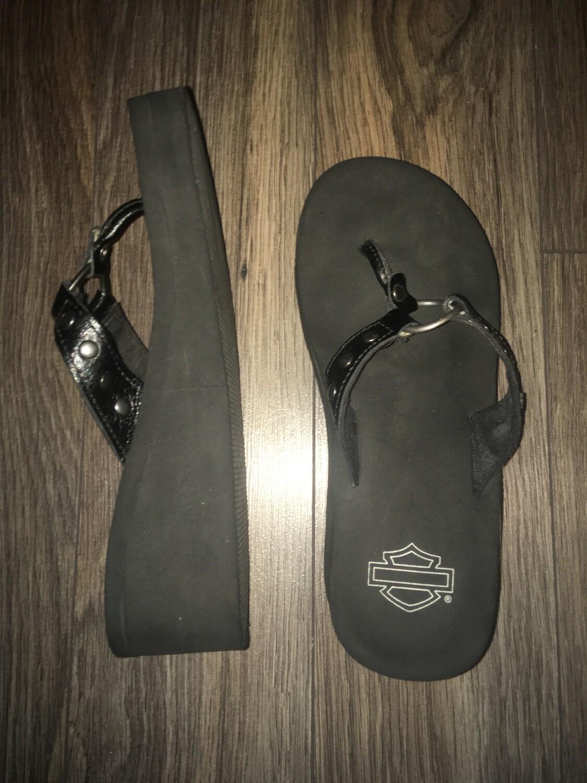 Sandales de Cuir pour Femme Harley-Davidson Darcy D85573