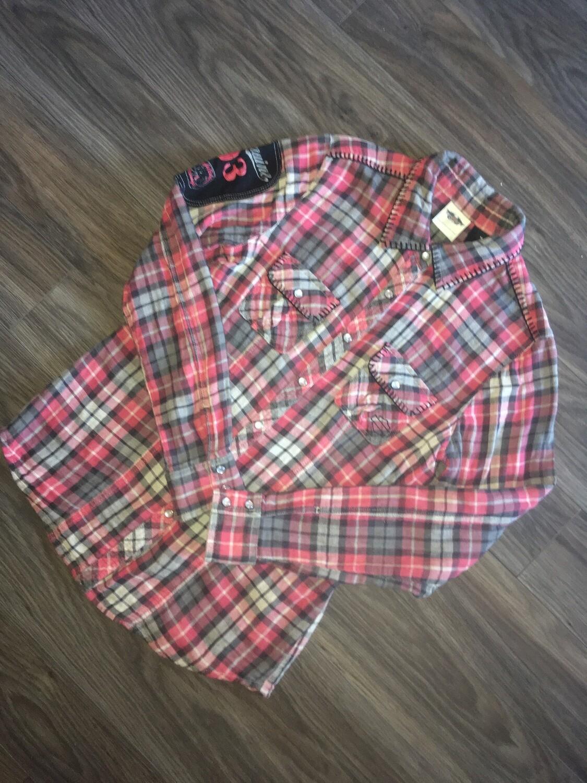 Chemise à carreaux a manches longues pour Femmes Harley-Davidson® Town & Country 96014-13VW