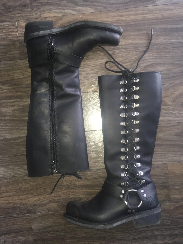 "Bottes Romy Inside Zip pour femmes Harley-Davidson®. Tige 14,5"", Talon 1,75"" D87020"