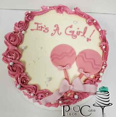 Layer Cake- Baby/Gender Reveal